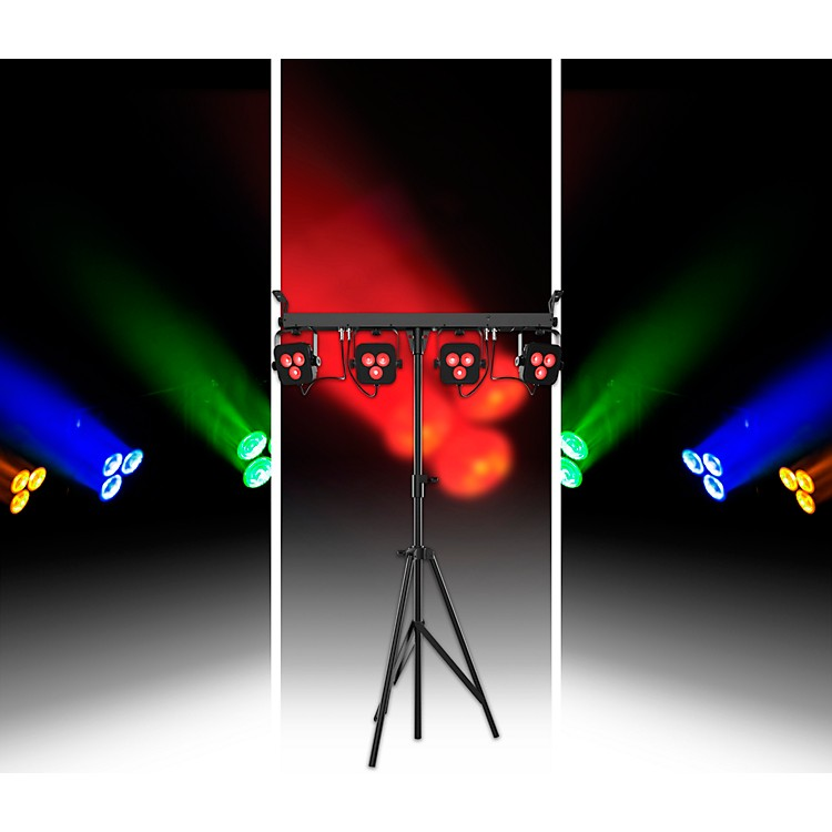 CHAUVET DJ4Bar LT Quad BT RGBA LED Wash Light System