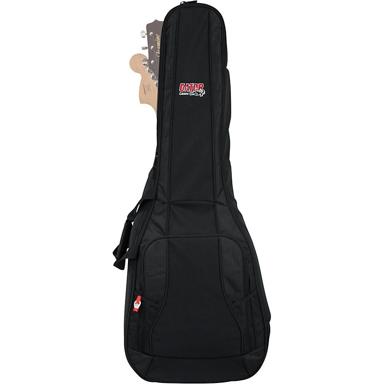 Gator 4G Series Acoustic/Electric Guitar Double Gig Bag Black