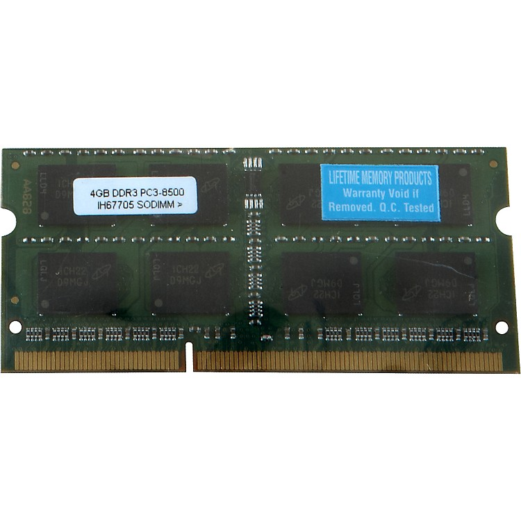 Lifetime Memory Products4GB MacBook/MacBook Pro DDR3