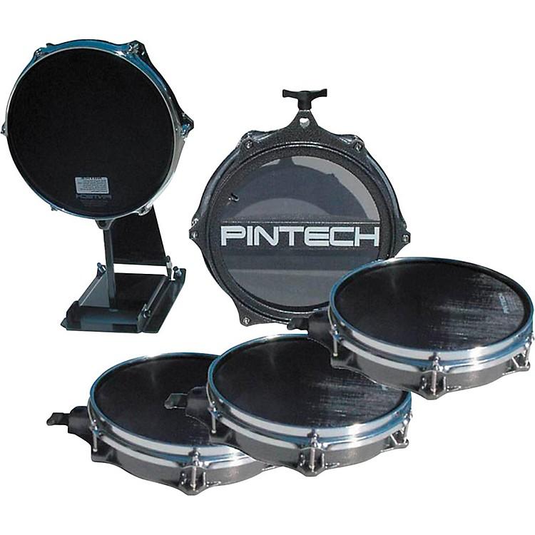 Pintech5-Piece Drum Pad BundleSilver Vein