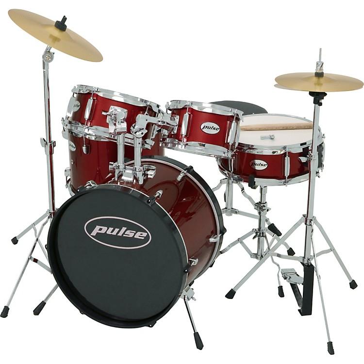 pulse 5 piece junior drum set music123. Black Bedroom Furniture Sets. Home Design Ideas