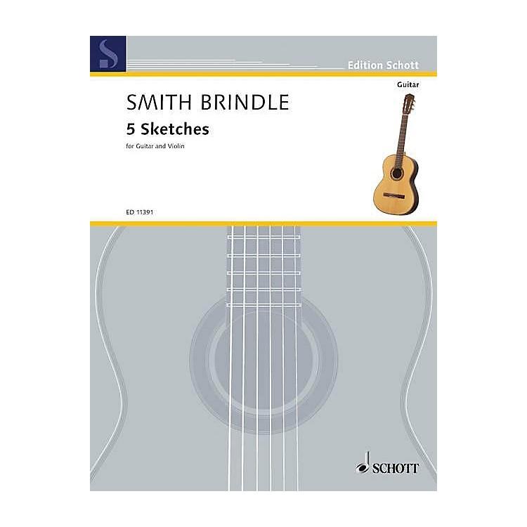 Schott5 Sketches (Performance Score) Schott Series