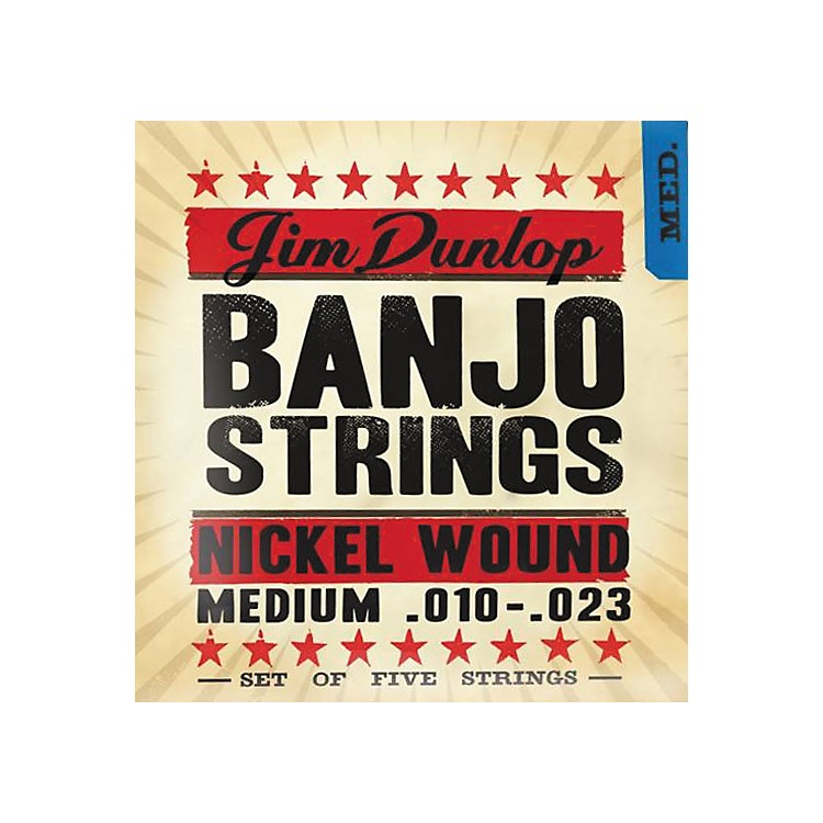 Dunlop5-String Banjo Medium Nickel String Set
