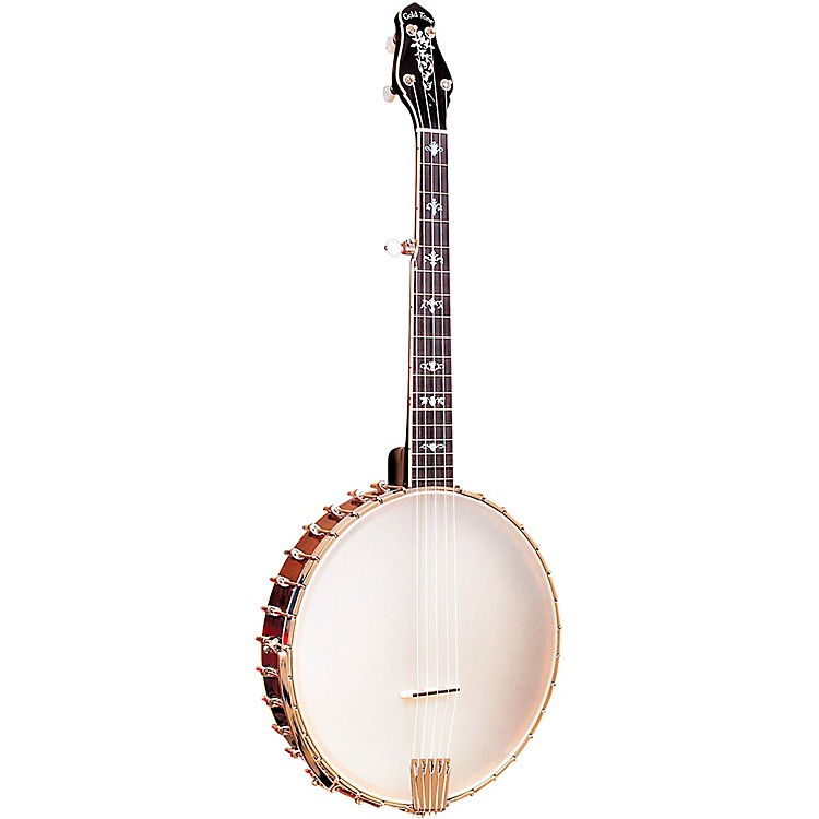 Gold Tone5-String Left-Handed Cello Banjo with CaseVintage Brown