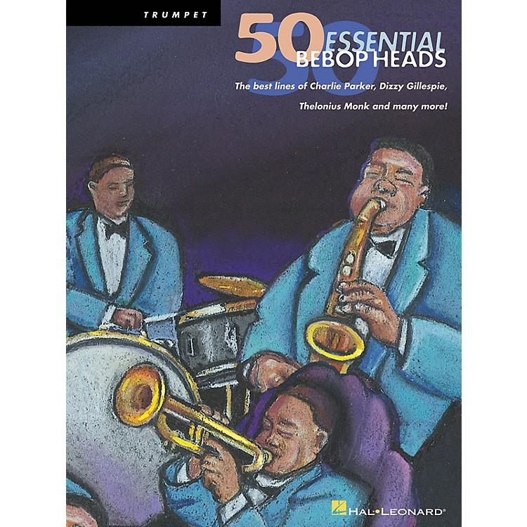Hal Leonard50 Bebop Heads for Alto Sax Instrumental Folio Series