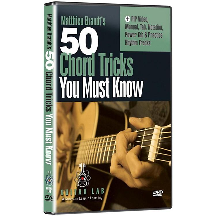 eMedia50 Chord Tricks You Must Know DVD