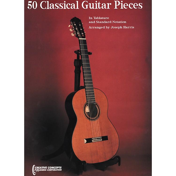 Creative Concepts50 Classical Guitar Pieces Book