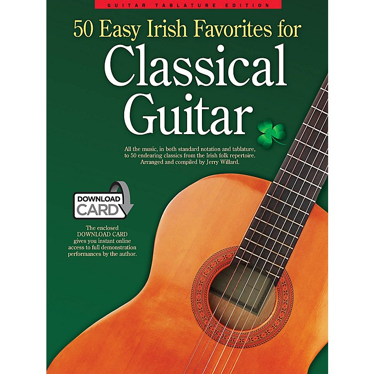 Wise Publications50 Easy Irish Favorites for Classical Guitar Guitar Series Softcover Audio Online