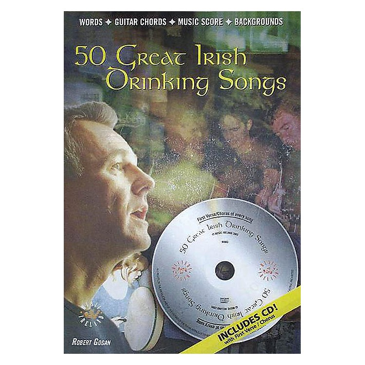 Music Sales50 Great Irish Drinking Songs Music Sales America Series Softcover with CD