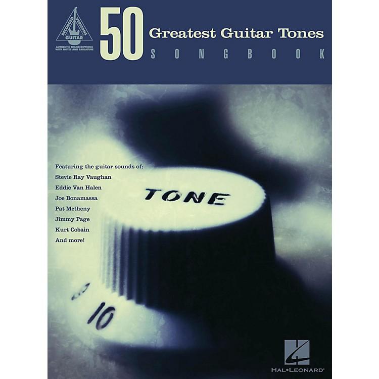 Hal Leonard50 Greatest Guitar Tones Songbook