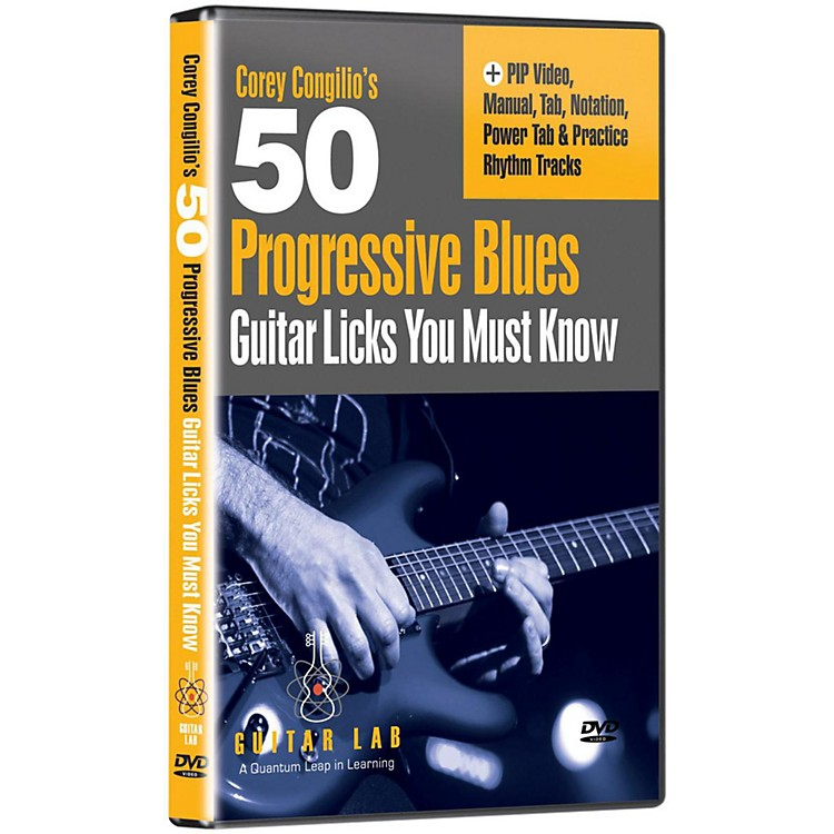 eMedia 50 Progressive Blues Licks You Must Know DVD