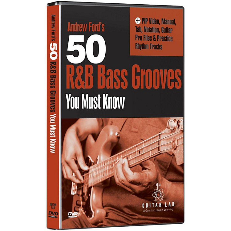 Emedia50 R&B Bass Grooves You Must Know DVD