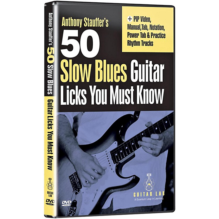 Emedia 50 Slow Blues Licks You Must Know DVD