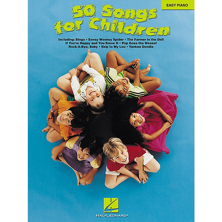 Hal Leonard 50 Songs For Children For Easy Piano