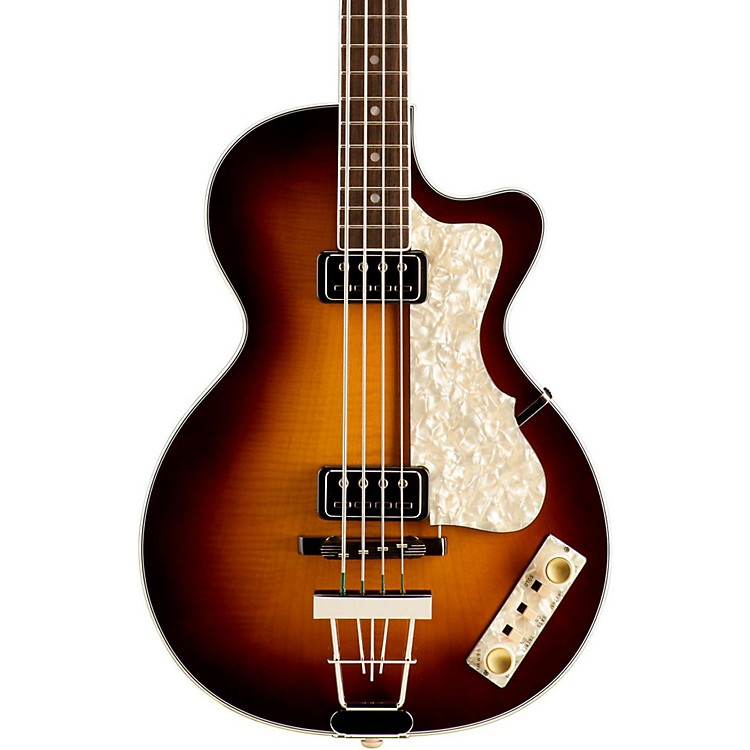 Hofner 500/2 Club Bass Guitar Sunburst