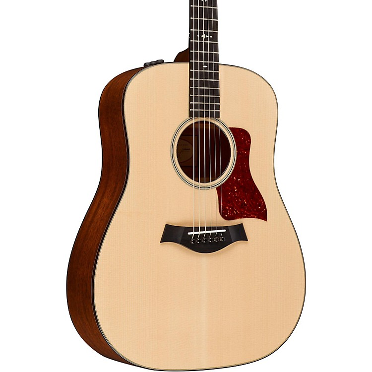 Taylor500 Series 510e Dreadnought Acoustic-Electric GuitarMedium Brown Stain