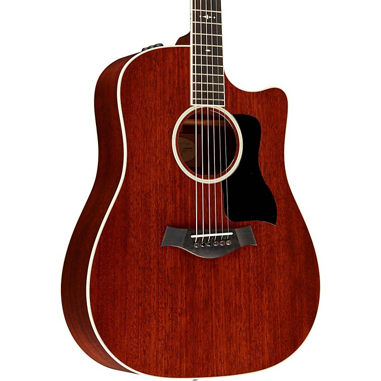 Taylor500 Series 520ce Dreadnought Acoustic-Electric GuitarMedium Brown Stain
