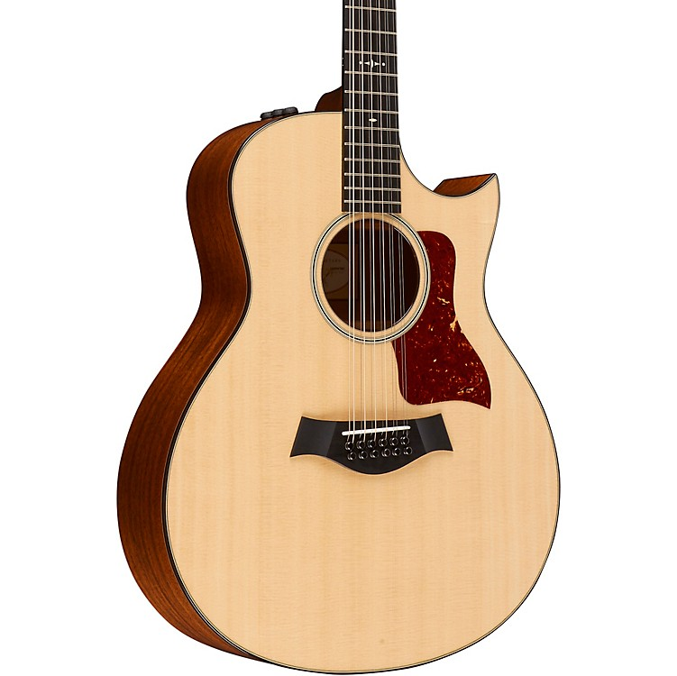Taylor500 Series 556ce 12-String Grand Symphony Acoustic-Electric GuitarNatural