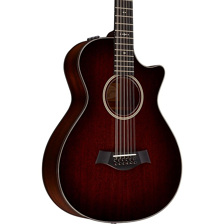 Taylor 500 Series 562ce Grand Concert 12-String Acoustic-Electric Guitar Medium Brown Stain