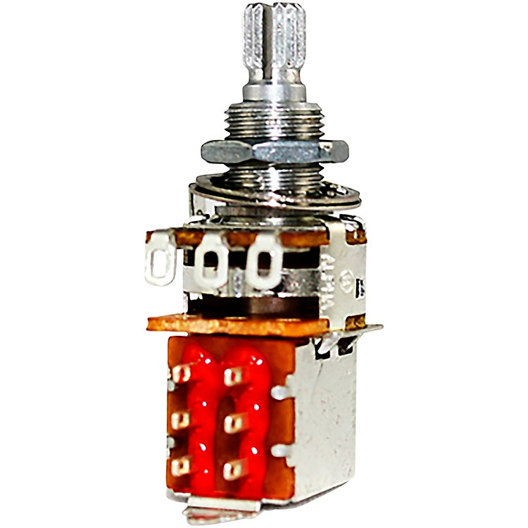 Allparts500K DPDT Push Pull Audio Pot