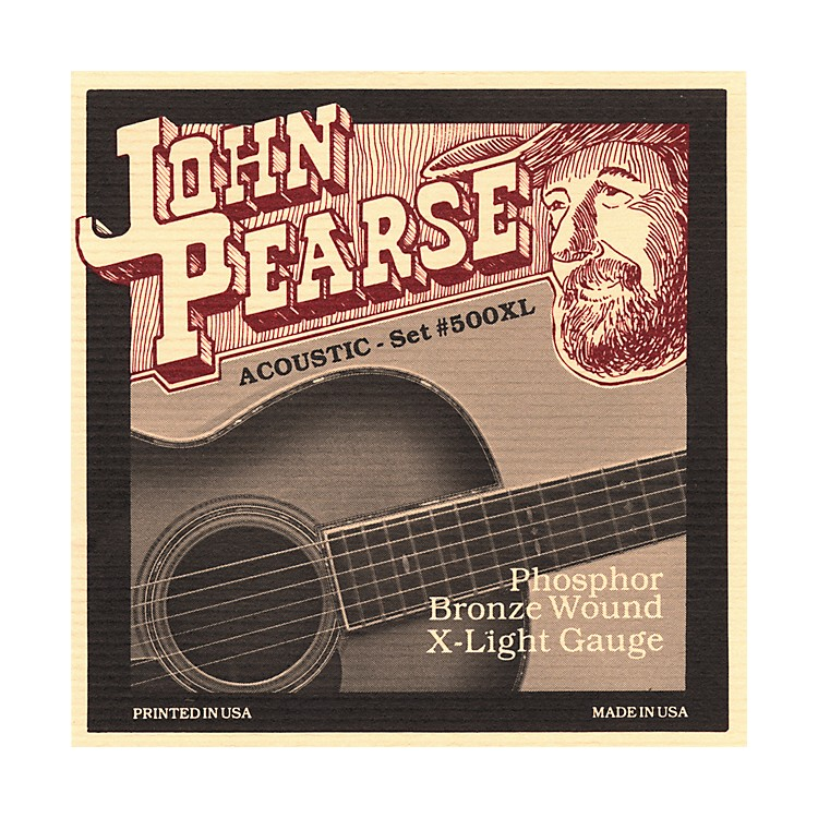 John Pearse500XL Bronze Acoustic Guitar Strings