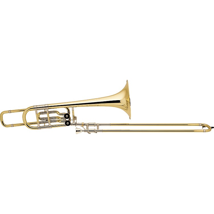 Bach 50B2O Stradivarius Series Bass Trombone 50B2LO 10.5- in. Yellow Brass Bell