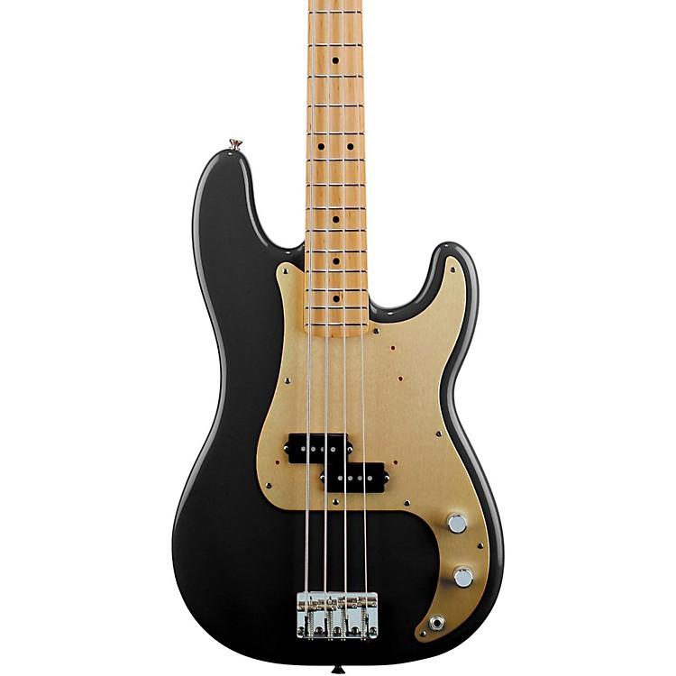 Fender'50s Precision BassBlackMaple Fretboard
