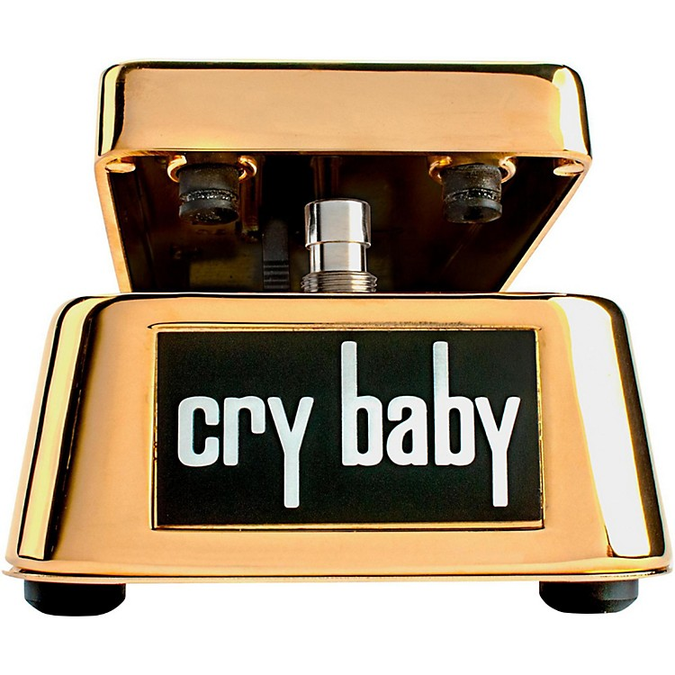 Dunlop 50th Anniversary Gold Cry Baby Wah Pedal