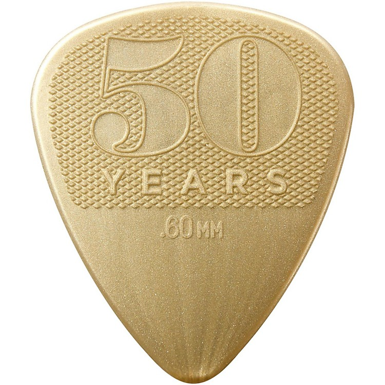 Dunlop 50th Anniversary Nylon Pick, .60mm (32-Pack)