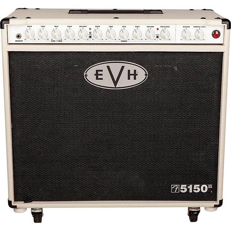 EVH5150III 50W 1x12 Tube Guitar ComboIvory00888365833439