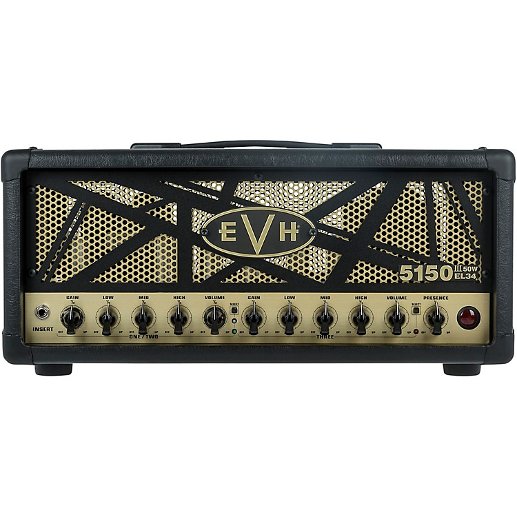 EVH 5150III 50W EL34 50W Tube Guitar Amp Head Black