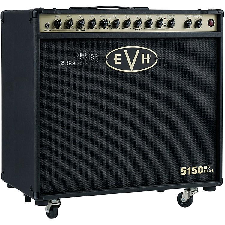 EVH5150III EL34 50W 1x12 Tube Guitar Combo AmpBlack