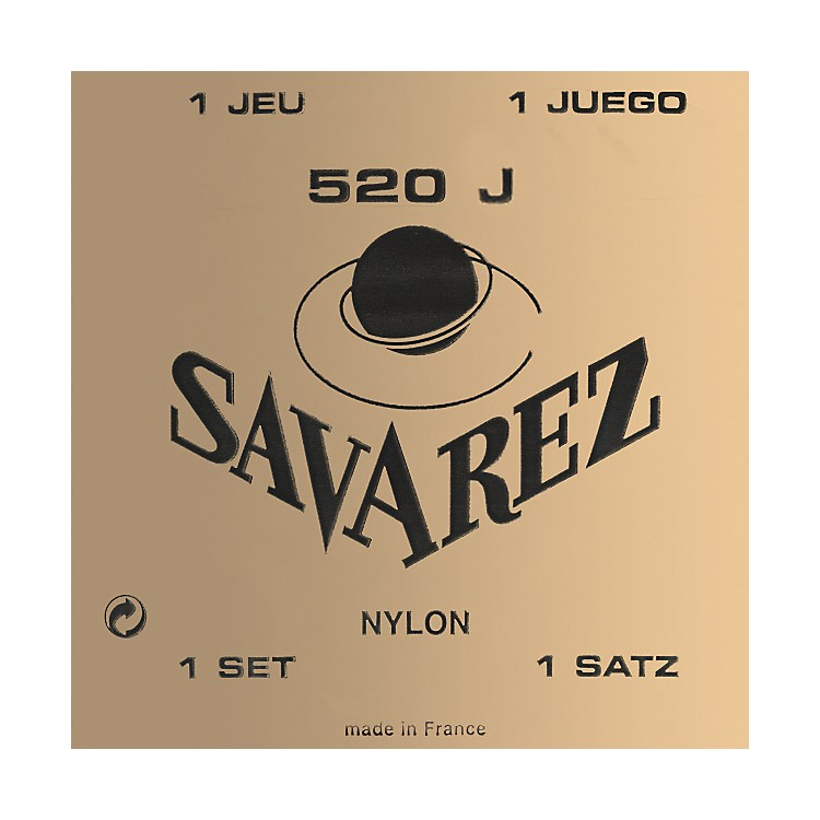Savarez520J Super High Tension Acoustic Guitar Strings
