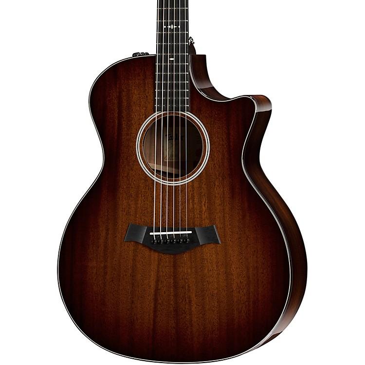 Taylor524ce V-Class Grand Auditorium Acoustic-Electric GuitarShaded Edge Burst