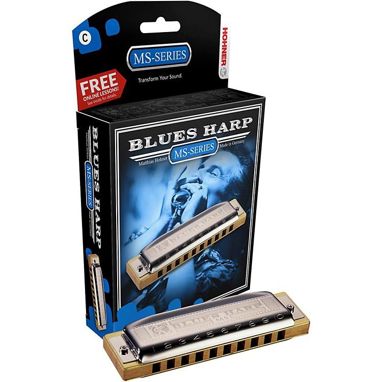 Hohner532 Blues Harp MS-Series HarmonicaBb