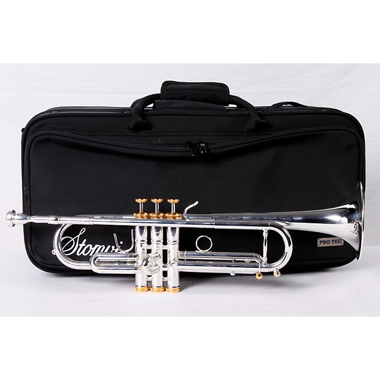 Stomvi 5343 Elite 430-ML Heavyweight Series Bb Trumpet Silver 886830748042