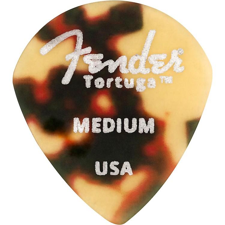 Fender551 Shape Tortuga Ultem Guitar Picks (6-Pack), Tortoise ShellThin