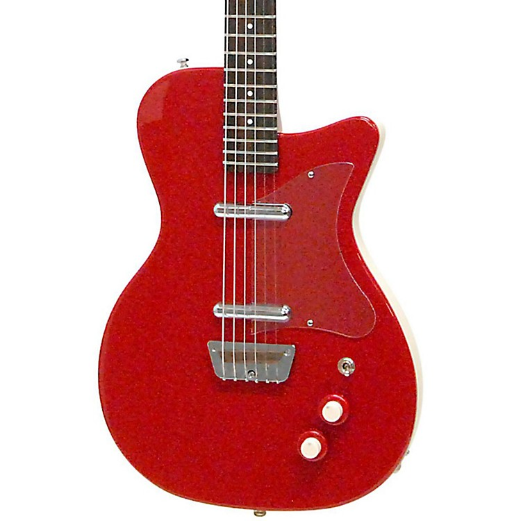 Danelectro '56 Baritone Electric Guitar Red