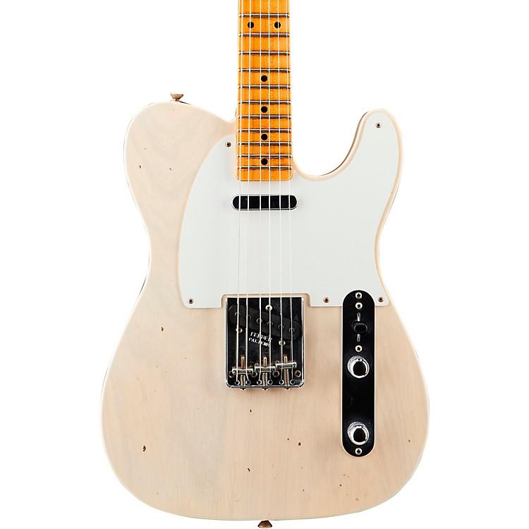 Fender Custom Shop'56 Journeyman Telecaster Maple Fingerboard Electric GuitarAged White Blonde