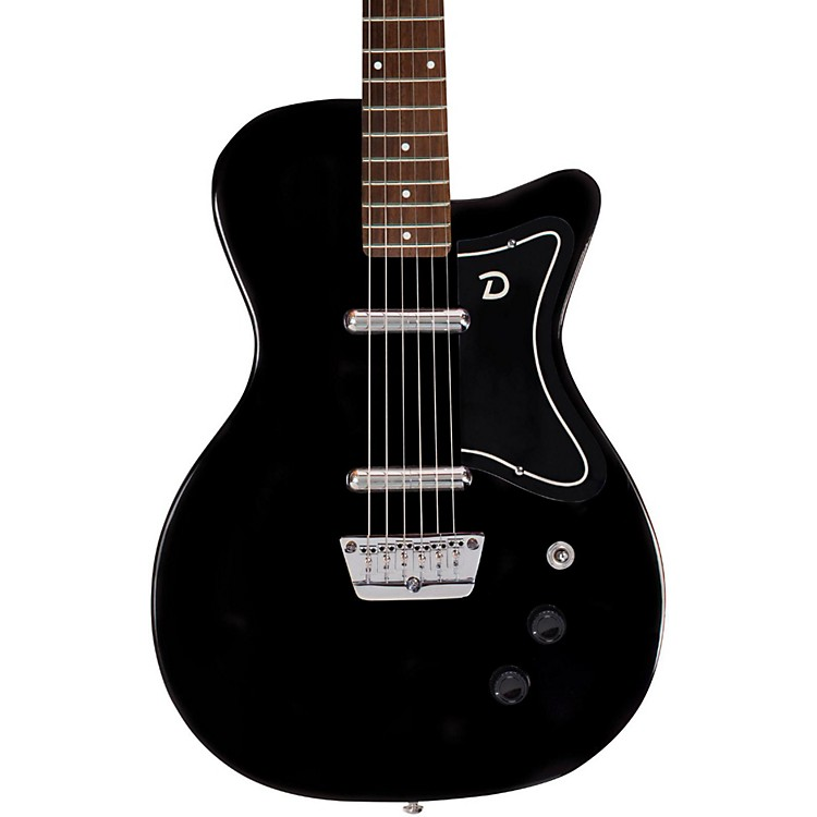 danelectro 56 u2 electric guitar black music123. Black Bedroom Furniture Sets. Home Design Ideas