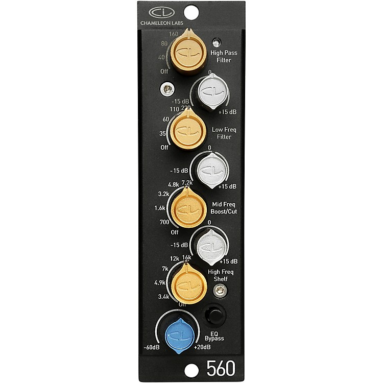 Chameleon Labs 560EQ 500 Series Equalizer