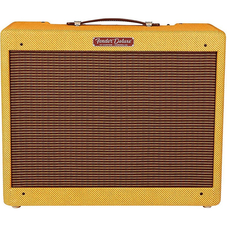 Fender '57 Custom Deluxe 12W 1x12 Tube Guitar Amp Lacquered Tweed