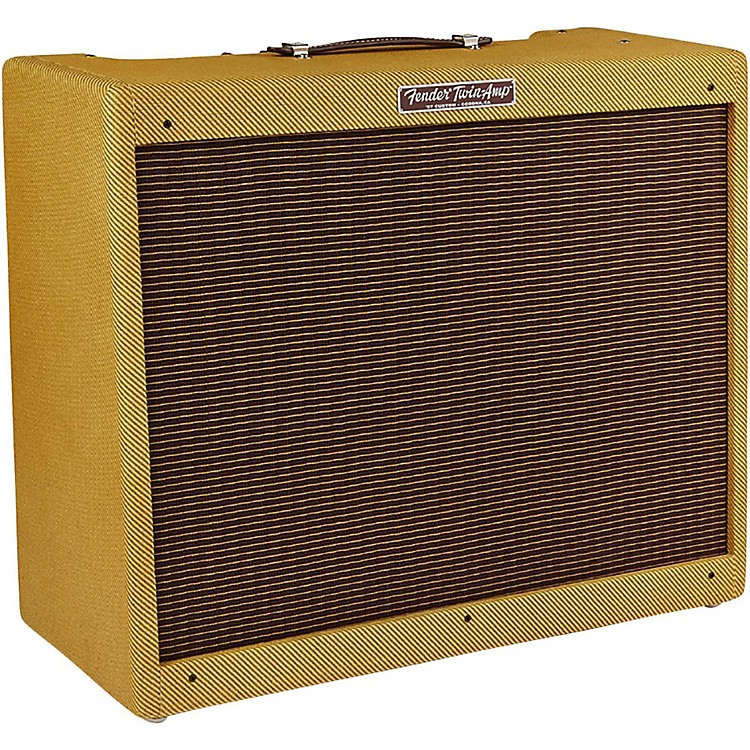 Fender '57 Custom Twin 40W 2x12 Tube Guitar Amp Lacquered Tweed