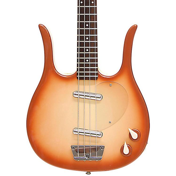 Danelectro'58 Longhorn Bass Electric Bass GuitarCopper Burst