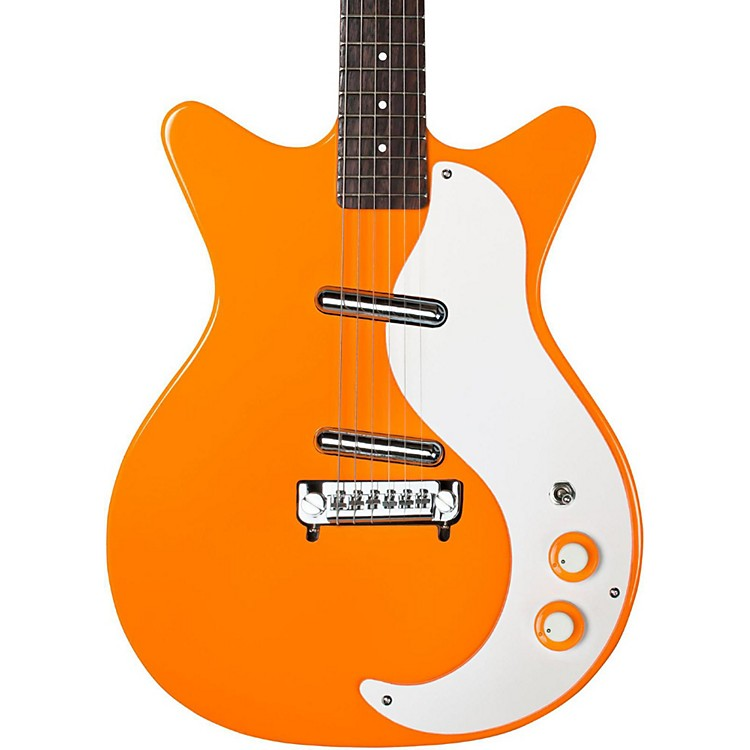Danelectro '59 Modified New Old Stock Electric Guitar Orange-adelic
