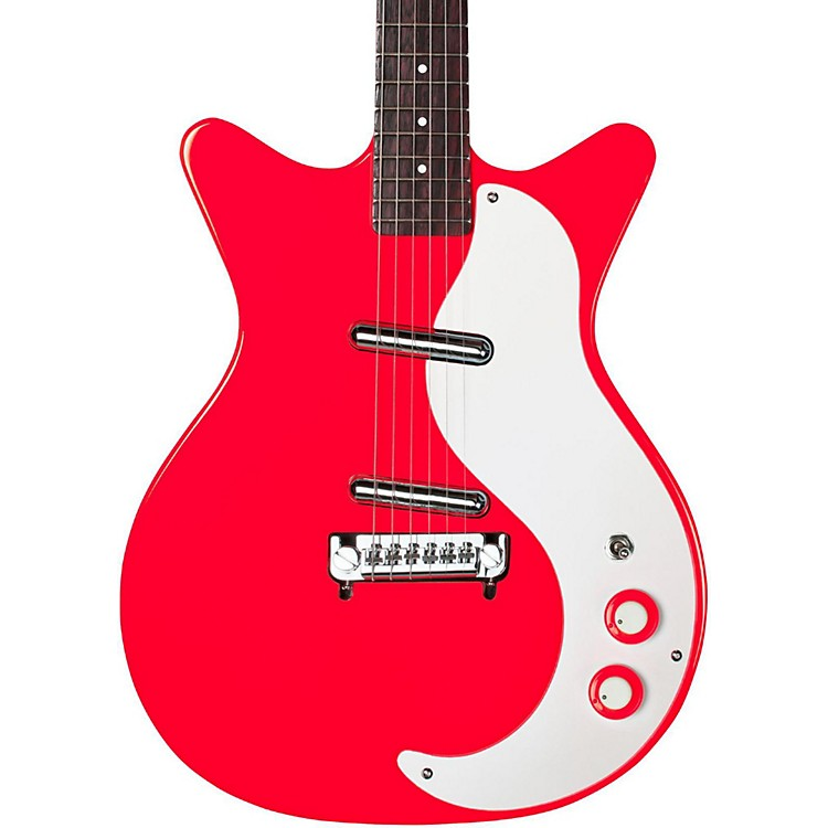Danelectro '59 Modified New Old Stock Electric Guitar Right on Red