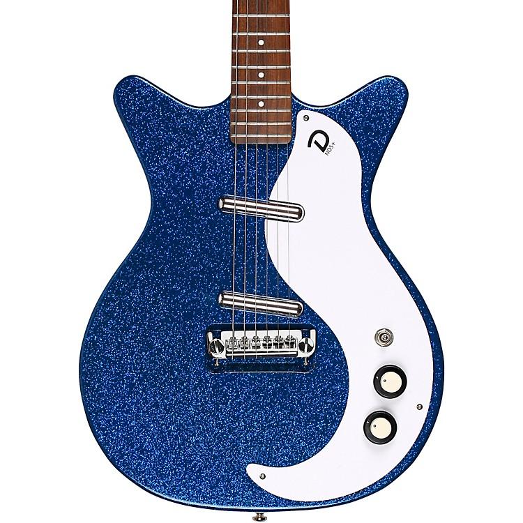 Danelectro59M NOS+ Electric GuitarDeep Blue Metalflake