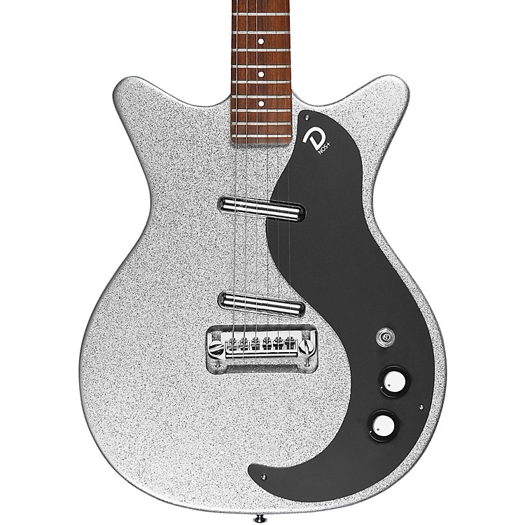 Danelectro59M NOS+ Electric GuitarSilver Metalflake