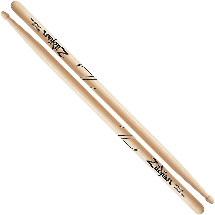 Zildjian 5B Acorn Tip Drum Sticks