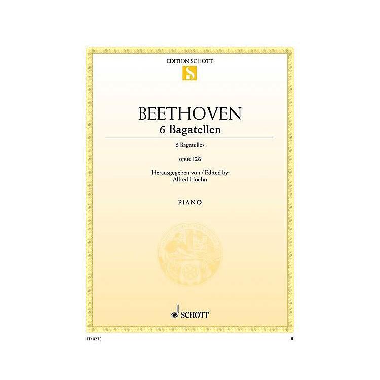 Schott6 Bagatelles, Op. 126 Schott Series